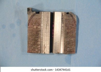 Fatigue fracture of 17-4 PH H900 stainless steel poppet valve body, Origin located in groove on OD of body. Improper heat treatment is a contributing factor. Fractography and metallography.