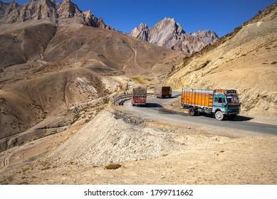 Fatu La Hiway Pass Ladakh India
