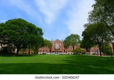 Faunce House is a Colonial Revival style building in Brown University. This building was built in 1903 and originally called Rockefeller Hall, Brown University, Providence, Rhode Island, USA.