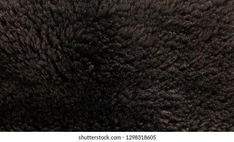 Faux fur close up