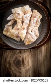 Faworki - Traditional Polish cookies served at Fat Thursday.