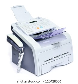 Fax, Scanner, Printer machine into all in one office equipment