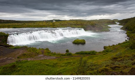Faxi waterfall in Iceland