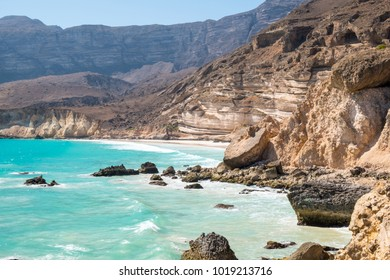 Fazayah Beach ( or sometimes spelled Fizayah) near Salalah, Dhofar - Sultanate of Oman