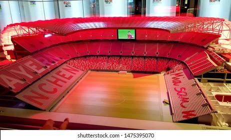 FC Bayern Munich Museum. May 9, 2019. Alliance Arena. Munich. Germany
