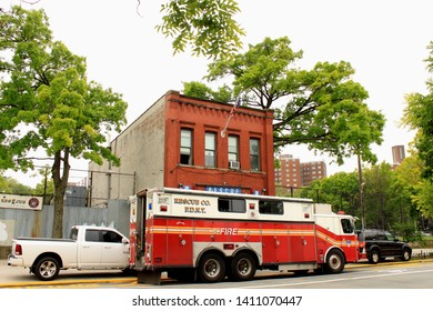 FDNY Rescue 2, formerly Engine Company 234 Formerly Fire Salvage 1 Building on site since 1830 this one perhaps built in 1921 located in Crown Heights in the WeeksVille Section Brooklyn NY May 29 2019