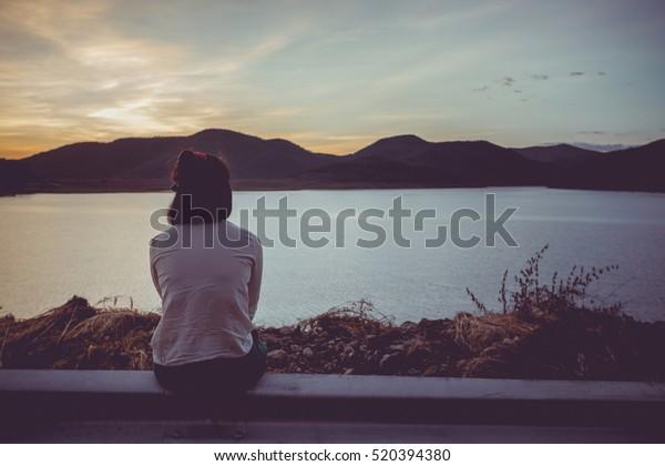 Angst, Einsamkeit, Depression, Missbrauch, Sucht