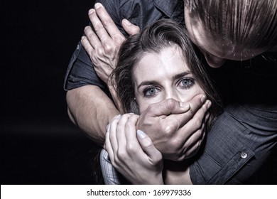Fear of woman victim of domestic violence and abuse