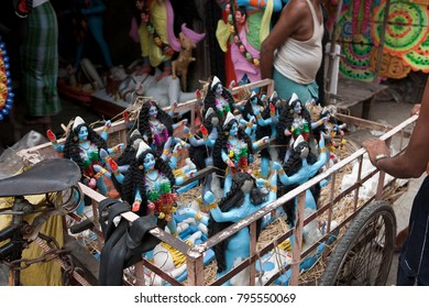 Feast of the goddess Kali in Kolkata