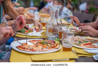 Feast - pizza and beer