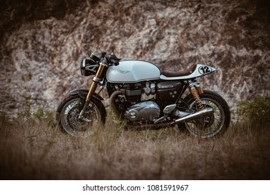 Triumph Cafe Racer Stock Photos, Images & Photography | Shutterstock
