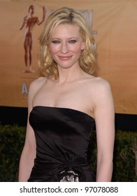Feb 06, 2005: Los Angeles, CA: CATE BLANCHETT at the 11th Annual Screen Actors Guild Awards at the Shrine Auditorium.
