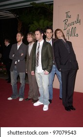 Feb 12, 2005; Beverly Hills, CA: MAROON 5 at record mogul Clive Davis' Annual pre-Grammy party at the Beverly Hills Hotel.