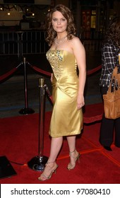 Feb 14, 2005; Los Angeles, CA: Actress KIMBERLY J. BROWN at the world premiere of her new movie Be Cool, at the Grauman's Chinese Theatre, Hollywood.