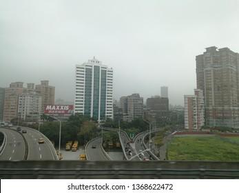 Feb 15 2019: taipei Taiwan: city view and taiwanese lifestyle in Taipei the capital city of Taiwan.