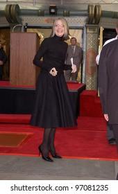 Feb 16, 2005: Los Angeles, CA: Actress DIANE KEATON at hand & footprint ceremony at the Grauman's Chinese Theatre, Hollywood, for Paramount Pictures chairman Sherry Lansing.