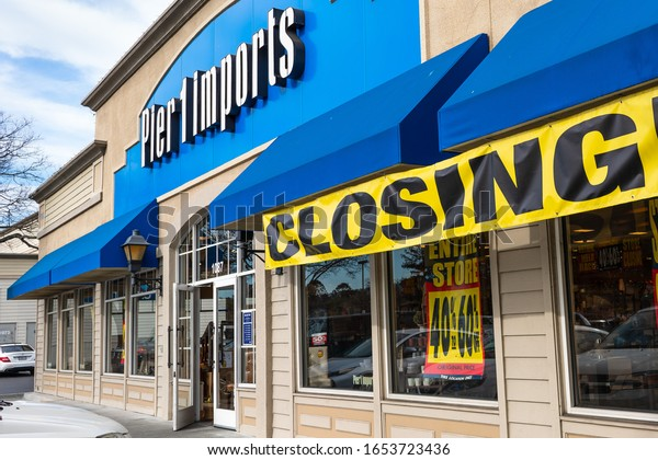 Feb 21, 2020 Redwood City / CA / USA - Pier 1 Import store; Pier 1 Imports Inc., an American retailer specializing in imported home furnishings and decor, filed for Chapter 11 bankruptcy protection