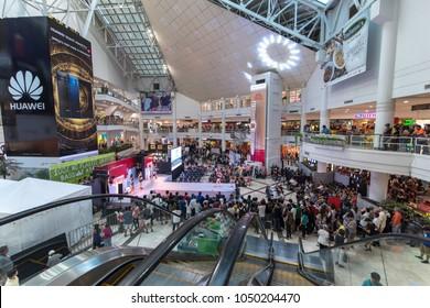 Feb 24, 2018 People watch event at Glorietta mall , Makati city, Merto Manila, Philippines