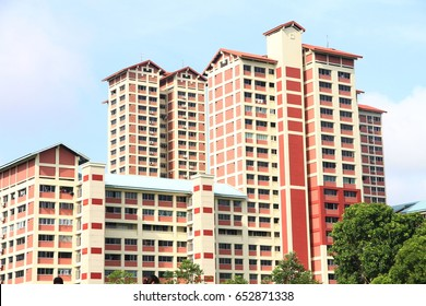 February 13, 2016 – New Town in Singapore Public Housing in Bishan built by Housing Development Board in Singapore
