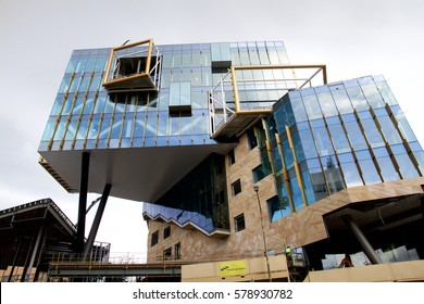 February, 14, 2017. Newcastle NSW Australia: NeW Space is a $95 million education precinct development by the University of Newcastle in the centre of Newcastle's CBD due for completion in 2017.