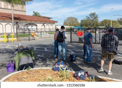 FEBRUARY 14, 2019, LAKELAND, FL: Beautiful Publix Field at Joker Marchant Stadium prepares for the 2019 Detroit Tigers and spring training. Fans wait to catch their favorite Tiger.