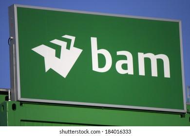 "FEBRUARY 15, 2014 - BERLIN: the logo of the brand ""Bam"", Berlin."