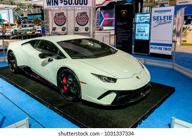 February 15, 2018. Toronto, Canada: Presentation of car during the 2018 Canadian International AutoShow (Feb. 15-25) on at Metro Toronto Convention Centre