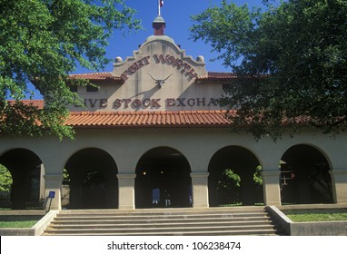 FEBRUARY 2005 - Entrance to Ft. Worth Livestock Exchange, TX