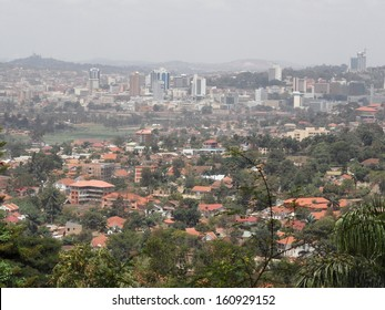 FEBRUARY 2011 - UGANDA: the skyline of the Ugandian capital Kampala.