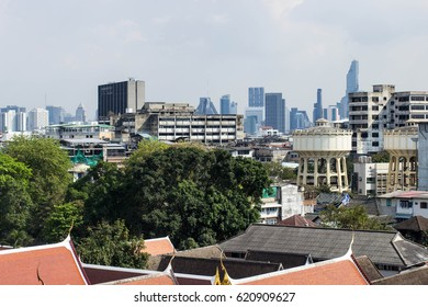 FEBRUARY, 2017: City view of Bangkok, Thailand
