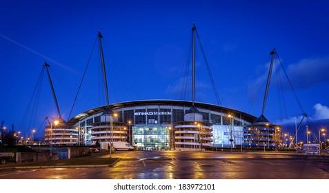 February 20th 2014, Manchester City Football Club is an English Premier League football club based in Manchester. Founded in 1880. It is one of the richest football club.