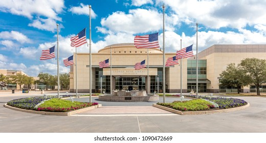 FEBRUARY 28, 2018 - COLLEGE STATION TEXAS - George H.W. Bush Presidential Library and Museum