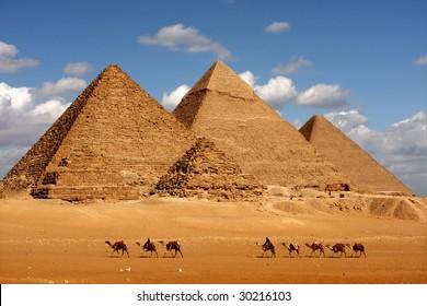 February 3, 2009 - pyramids giza