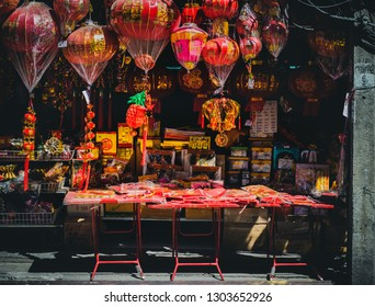 February 4, 2019  | China town at Warorot Market, Chiang Mai Thailand