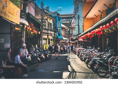 February 5, 2019  | China town at Warorot Market, Chiang Mai Thailand