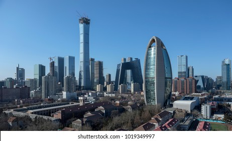 In February 6, 2018 the city of Beijing international high China scenery