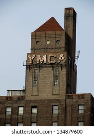 """FEBRUARY 8 - HARLEM, NY: The Harlem YMCA, established in 1901, has been called the """"living room of the Harlem Renaissance.""""  February 8, 2012, it continues to serve the people of Harlem, NY."""