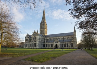 February Portrait of Salisbury Cathedral