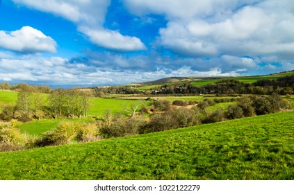 A February walk along the South Downs Way around Alfriston in East Sussex south east England