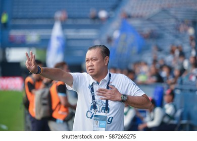 February,25,2017, TOYOTA THAI LEAGUE 2017, Buriram United 2 - 0 Pattaya United, i - mobile stadium, Buriram, Thailand.
