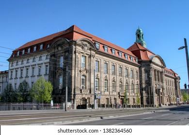 Federal Ministry for Economic Affairs and Energy (Bundesministerium für Wirtschaft und Energie, abbreviated BMWi) in Berlin, Germany - 21/04/2019