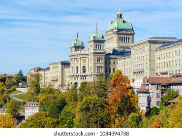 The Federal Palace (1902), Parliament Building housing the Swiss Federal Assembly  and the Federal Council,  Bern, Switzerland