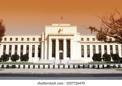 Federal Reserve Building in Washington DC, United States, FED
