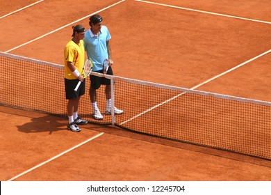 Federer and Nalbandian at Masters Series of Montecarlo. April 2008