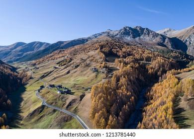 Federia Valley, Livigno