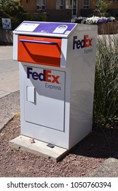 FedEx Express drop box ASU campus Tempe Arizona 3/17/18