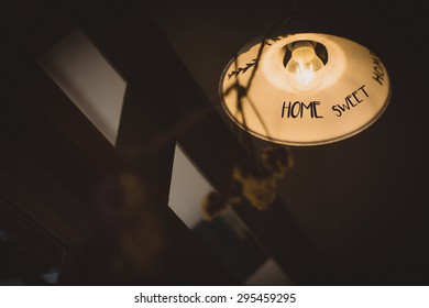 Feel lonely with with sweet home Lamp