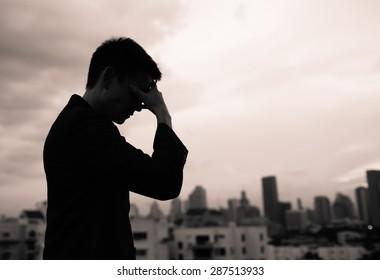 Feeling depressed.