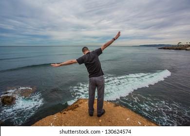 Feeling Free at the Ocean