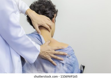 Feels pain in the small of the back,Man with back pain
